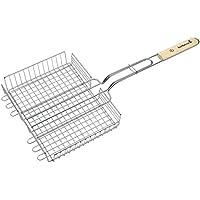 Barbecook 2230193055 Cesta de Parrilla Ajustable, Gris, 63x32x5 cm