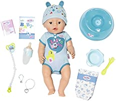 "Zapf Creation 824375"" Baby Born Soft Touch Boy pop, kleurrijk"