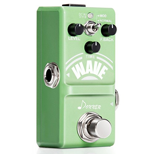 Donner Wave Analog Delay Gitarre Effektpedal Mini 9V DC - Time-delay-schaltungen