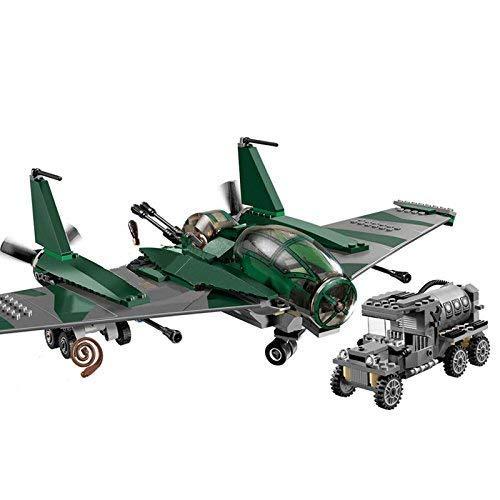 zeichen Indiana Jones Abenteuerlich Flugzeug 4 Minifiguren inklusive - Passend BAU Block #CA002 ()