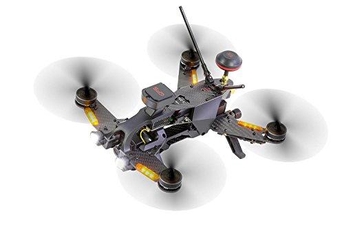 Walkera 15004600 - Runner 250 Pro Racing-Quadrocopter RTF - FPV-Drohne mit HD Kamera, GPS, OSD, Akku, Ladegerät und Devo 7 Fernsteuerung - 5