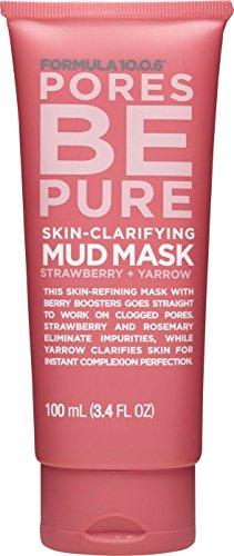 Formula 10.0.6 Pores Be Pure Mud Mask Skin Clarifying 100 ml (3.4 fl oz)