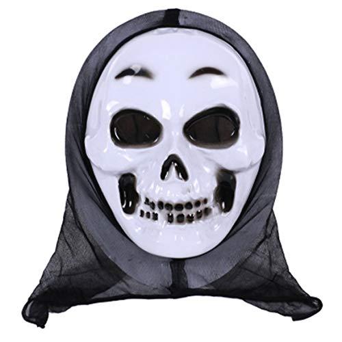 Delicacydex Halloween-Dekoration-lustiges Halloween-Abendkleid-erwachsenes Halloween-Kostüm-Zusatz-erwachsenes Halloween-Horror-Gesichtsmaske-Partei Cosplay -