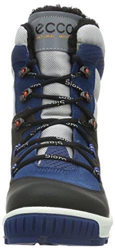 ECCO - Ecco Biom Hike, Scarpe sportive outdoor Bambino Nero (POSEIDON/SILVER GREY-BLACK59694)