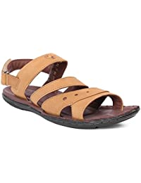 Red Chief Rust Men's Casual Leather Sandals (RC685 737)