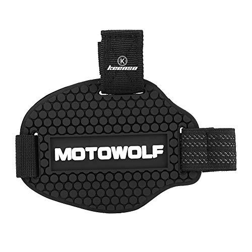 Protector para botas de motocicleta de palanca de cambios de goma, protector...