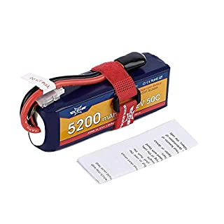 ACEHE 15.2V 5200mAh 50C 4S1P 79.04Wh XT60 Plug High Voltage Lipo Battery