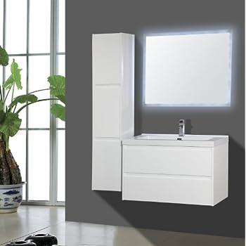 badmobel modern badmabel set i waschtisch badkeramik led spiegel badezimmer waschbecken badschrank moderne kaufen