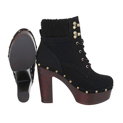Ital-design - Bottes De Femme Noire
