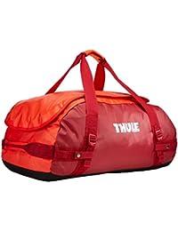 Thule Chasm 70L - Bolsa de viaje, color rojo