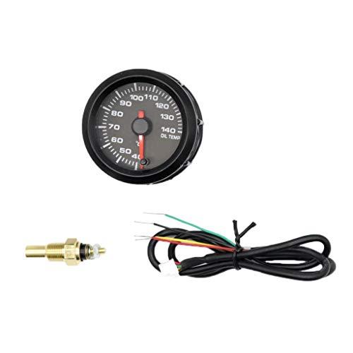 2' Manometro Indicatore Di Temperatura Olio Alta Precisione Auto Macch