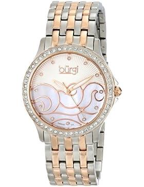 Burgi Damen-Armbanduhr BUR081TT Analog Quarz BUR081TT