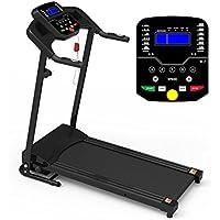 Tapis Roulant Elettrico Pieghevole Sensore Cardiaco MP3 Lcd 500W Picco 3HP PRO