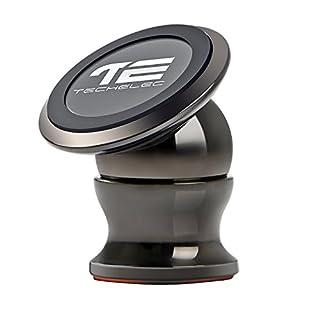 TechElec Auto Handyhalterung KFZ Magnet Halter, 360 Grad Drehbare Klebrige Handy Halterung/Mount für Galaxy S7, Note 5 und jedes andere Smartphone oder GPS