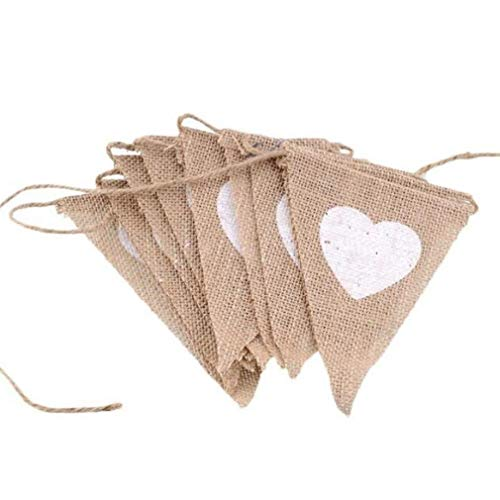 Wedding Bunting Cardboard Wedding Decoration, Vintage