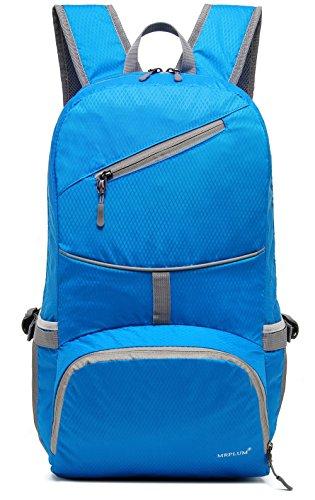 30L ligero Packable mochila, mrplum Unisex Durable resistente al agua práctico mochila para viajes y deportes al aire libre (Delgado- Azul)