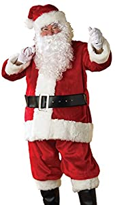 Rubies 23207 - Disfraz de Papá Noel para hombre