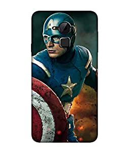 chnno Avengers 3D Printed Back cover for Coolpad Note 3