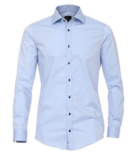 Venti Herren Businesshemd 172677800, Blau (Blau 100), 41 (Herstellergröße: L)