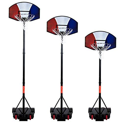 Panier de basket pour enfant - portique réglable de 1,38 m à 2,5 m