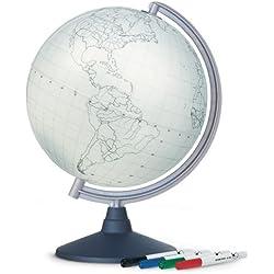Nova Rico - Globo terráqueo Juguete educativo de geografía (versión en inglés)