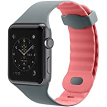 Belkin F8W729btC01 - Correa Deportiva para Apple Watch (38 mm/40 mm),