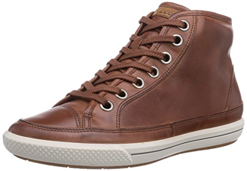 ECCO Summer Zone Sneaker a Collo Alto, Donna, Marrone(Mahogany 1195), 38