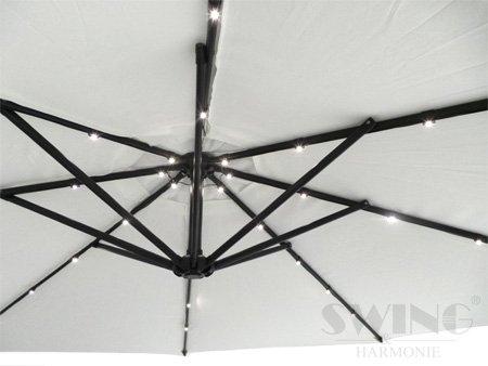Lussuoso parasole con illuminazione a led ombrellone da cm