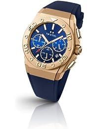 TW Steel TWCE5010 - Reloj de pulsera unisex, caucho, color azul
