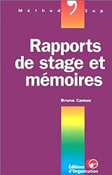 Rapports de stage et mémoires
