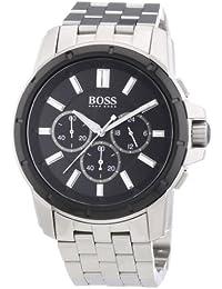 Hugo Boss Herren-Armbanduhr Analog Quarz Edelstahl 1512928