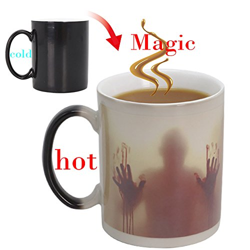 Farbwechsel Tasse,walking dead magische Keramik becher,Zombie Mug ,lustige geschenke