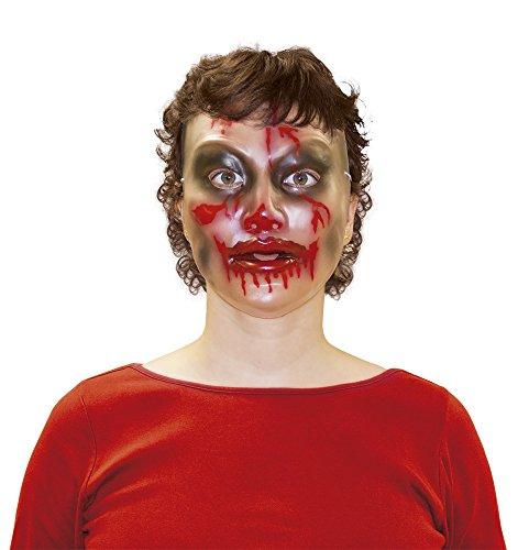 Generique - Transparente Halloween Maske für Damen