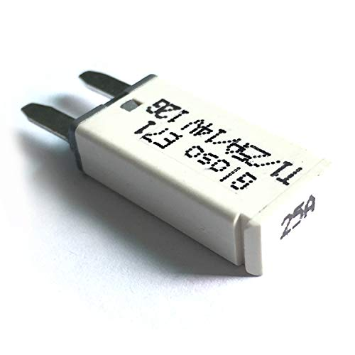 TOOGOO Réinitialisation Automatique de Trompette DC 14V 25A Disjoncteur Protecteur de Voiture Feuille D'Assurance