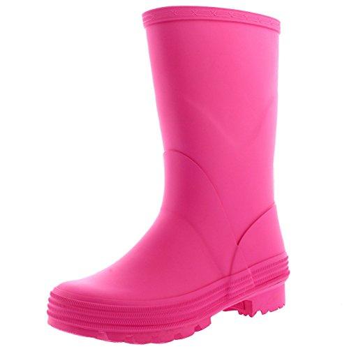 polar-bambini-unisex-inverno-la-neve-impermeabile-stivali-di-gomma-letame-pioggia-stivali-rosa-uk4-e
