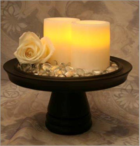 Inglow Flameless redondo Pilar Vela, aroma de vainilla con temporizador