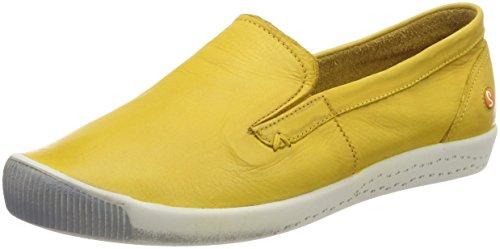 Softinos Ita298sof Washed, Mocassini Donna Gelb (amarillo)