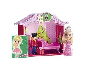 barbie p6570 accessoire poup e barbie chambre petite club maison soldat jeux. Black Bedroom Furniture Sets. Home Design Ideas