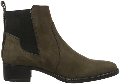 Marc O'Polo Mid Heel Chelsea, Bottes Classiques femme Gris - Grau (Dark Grey 930)