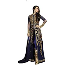 Royal blue custom to measure Personalizado para medir Bollywood Designer Ceremony Party Eid Muslim Kaftan Women