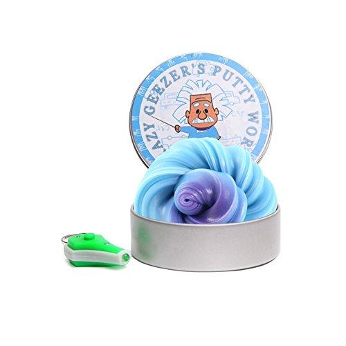 Farbwechsel Schleim Slime Putty Fluffy-Verfärbung Gummi Bounce Schlamm Nicht-magnetische Schlamm Slime Putty Duft-Wanne (Auto-farbe Putty)