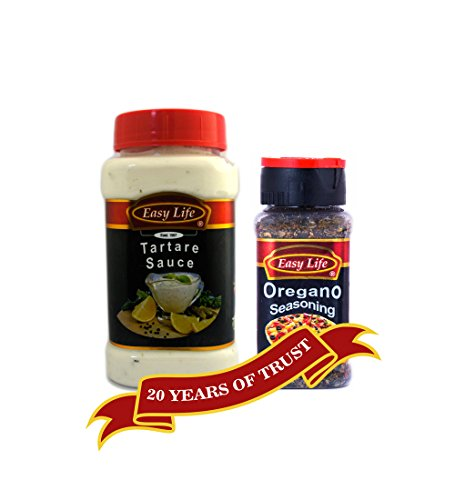 Easy Life Combo of Oregano Seasoning 60g and Tartare Sauce 315g