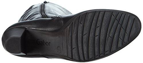 Gabor Gabor Basic 35.769, Bottes à tige haute et doublure intérieure femme Noir - Schwarz (schwarz 27)