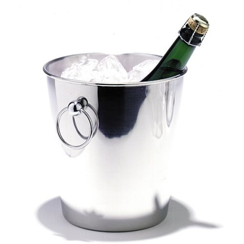 Leopold Sektkühler Champagnerkühler Edelstahl glänzend ø200x202mm