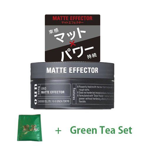 shiseido-uno-hair-wax-matt-effector-80g-green-tea-set