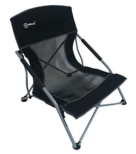 Homecall - Silla de camping (Negro)