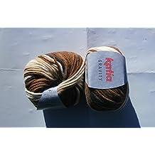 Katia Gravity–Color: Marrones/beiges (61)–100g/aprox. 90m lana