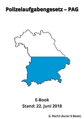 Polizeiaufgabengesetz - PAG - E-Book - Stand: 22. Juni  2018