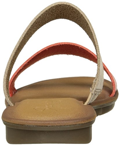 Skechers Cali Encaissez 2 Horizons Diapositive Sandal Natural/Coral