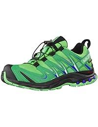 Salomon XA Pro 3D GTX W, Zapatillas de Running para Mujer, Verde (Hellgrün/Grün), 38 EU